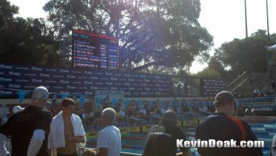 100 Back at the 2011 Nationals up next!