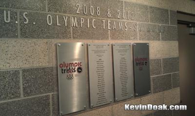 Tomorrow I swim the 100m Back at the 2012 Olympic Trials