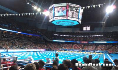 Day one of the 2012 Olympic Trials