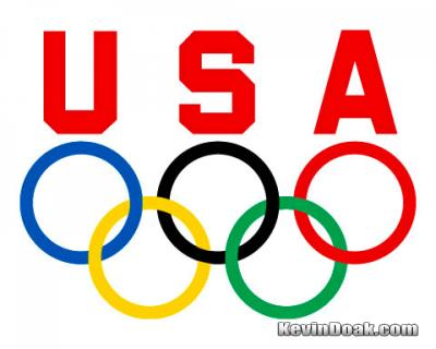 USA Olympic Rings