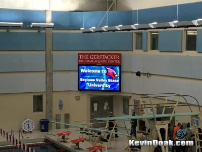 Saginaw Valley University State University Masters Meet