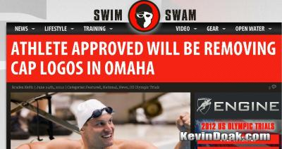 My service was featured on swimswam.com!